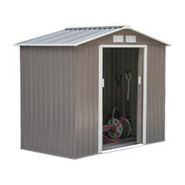 Outsunny® Gerätehaus Metall L213 x W127 x H185cm