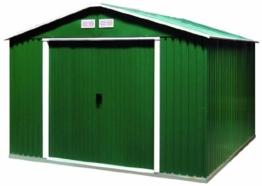 tepro Metallgerätehaus Colossus 10x8 grün (HAUSTYP5)