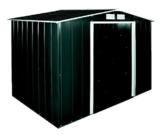 Tepro Metallgerätehaus Eco 8 x 6 anthrazit weiß 262x182.1x191 cm 7239