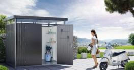 Metall Gerätehaus highline Biohort mit Doppeltür -