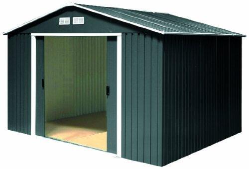 erfahrung metallger tehaus colossus 10x10 7023 inkl unterkonstrktion anthrazit von tepro im. Black Bedroom Furniture Sets. Home Design Ideas