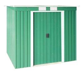 Tepro Duramax Metallgerätehaus Pent Roof mit Pultdach Grün
